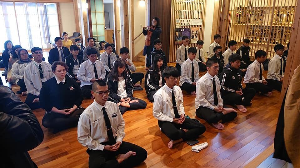 留学生坐禅会2