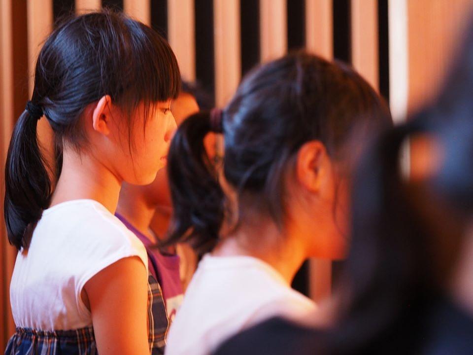 子ども坐禅会2